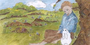 The Little Boy and The Little Bunny 7