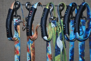 Outside Dog Artwears Leashes