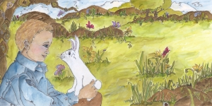 The Little Boy and The Little Bunny 13