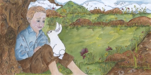 The Little Boy and The Little Bunny 11