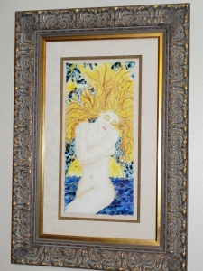 framed' The Dreamer' Second Original