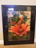 framed 'Textures In Orange'